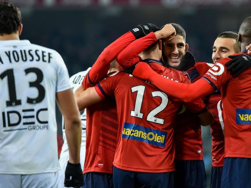 Lille-Caen (4-2), le LOSC refait surface