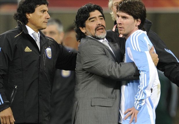 Messi: I'm jealous of Maradona
