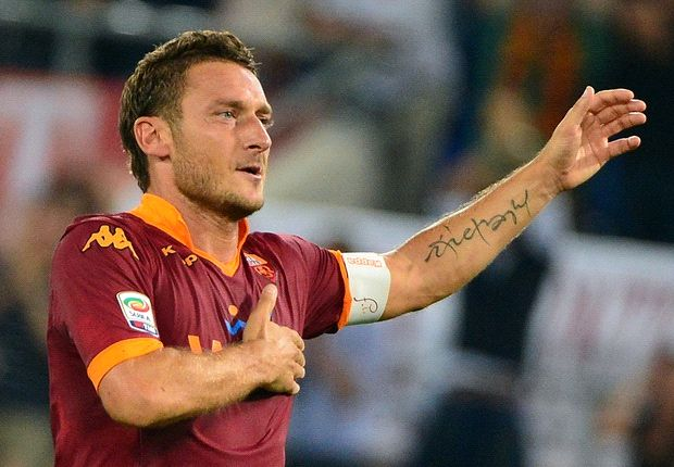 Totti: Modern football too physical