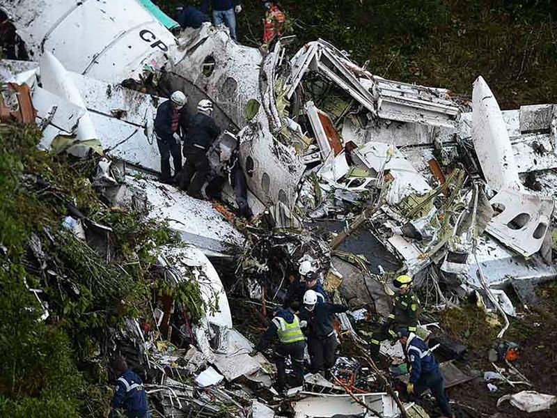 Tragedia Chapecoense, prende quota l'ipotesi esaurimento del carburante