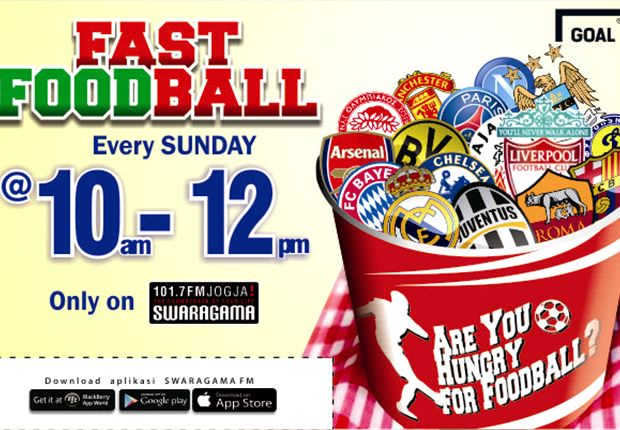 Fast Foodball With Goal Indonesia On 101.7 Swaragama FM Jogja