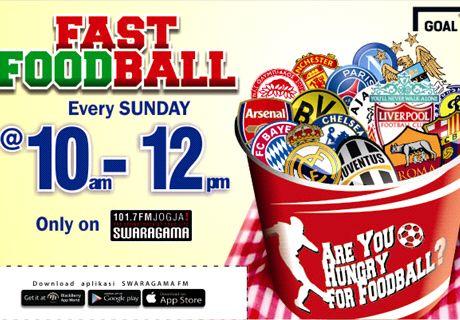 Fast Foodball On 101.7 Swaragama FM Jogja