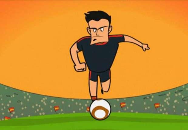 Torjäger David Villa durfte mit Spanien einige Erfolge feiern