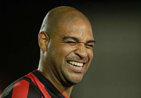 Adriano a Rio, festa in hotel e caos