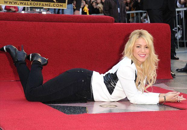 La splendente Shakira
