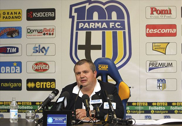 Parma president resigns and puts club up for sale