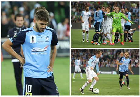 Ninkovic frustrated by Sydney's display