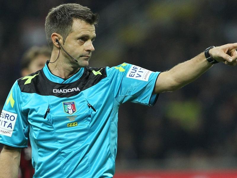 Gli arbitri della 15ª di Serie A: C'è Rizzoli per Napoli-Inter