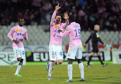 Amical, Evian domine Brest