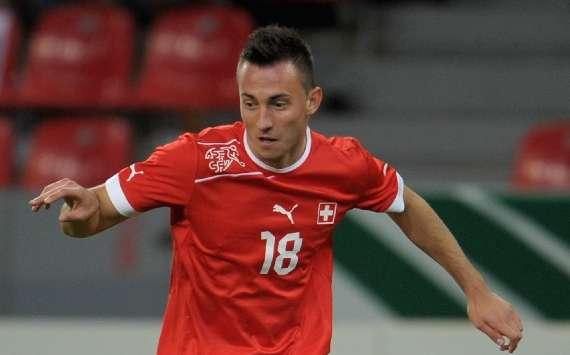 Switzerland 1-0 Jamaica: Late Drmic strike gives Swiss victory