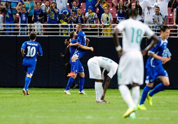 Bosnia-Herzegovina 2-1 Cote d'Ivoire: Dzeko double downs African giants