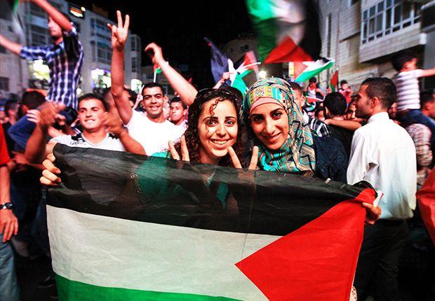 Laga Persiter U-21-Indonesia U-19 juga menjadi ajang peduli Palestina.
