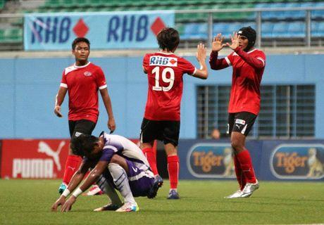 Singapore Cup quarter-final draw revealed