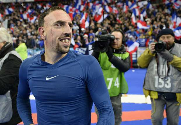 No danger of Ribery missing World Cup, promises French FA president