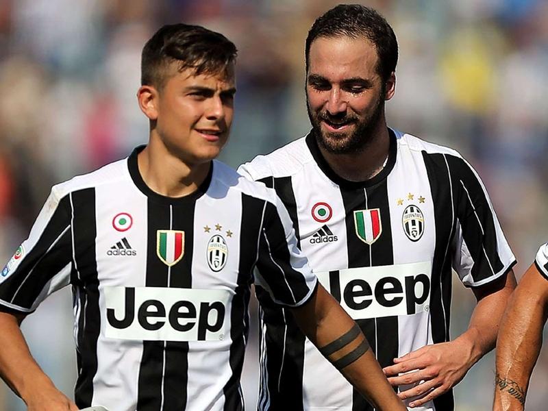 Juventus won't rest Dybala & Higuain ahead of Champions League final