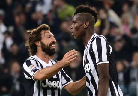 'Pogba the best, but Pirlo a doctor'