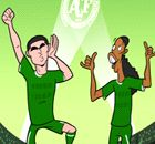 CARTOON: Ronaldinho urged to join Chape