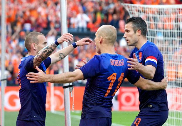 Netherlands 1-0 Ghana: Early Van Persie strike seals friendly win