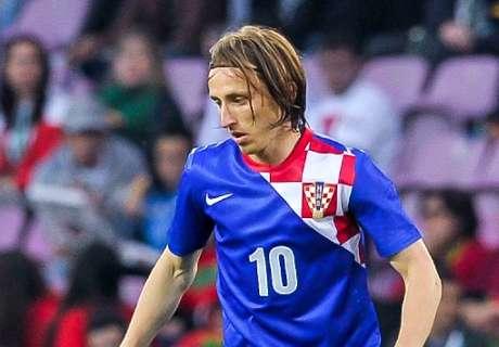 Croatie, Modric :