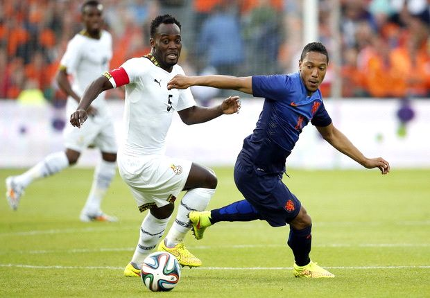 Essien picked No.5 due to superstition - Osei 'Parma'