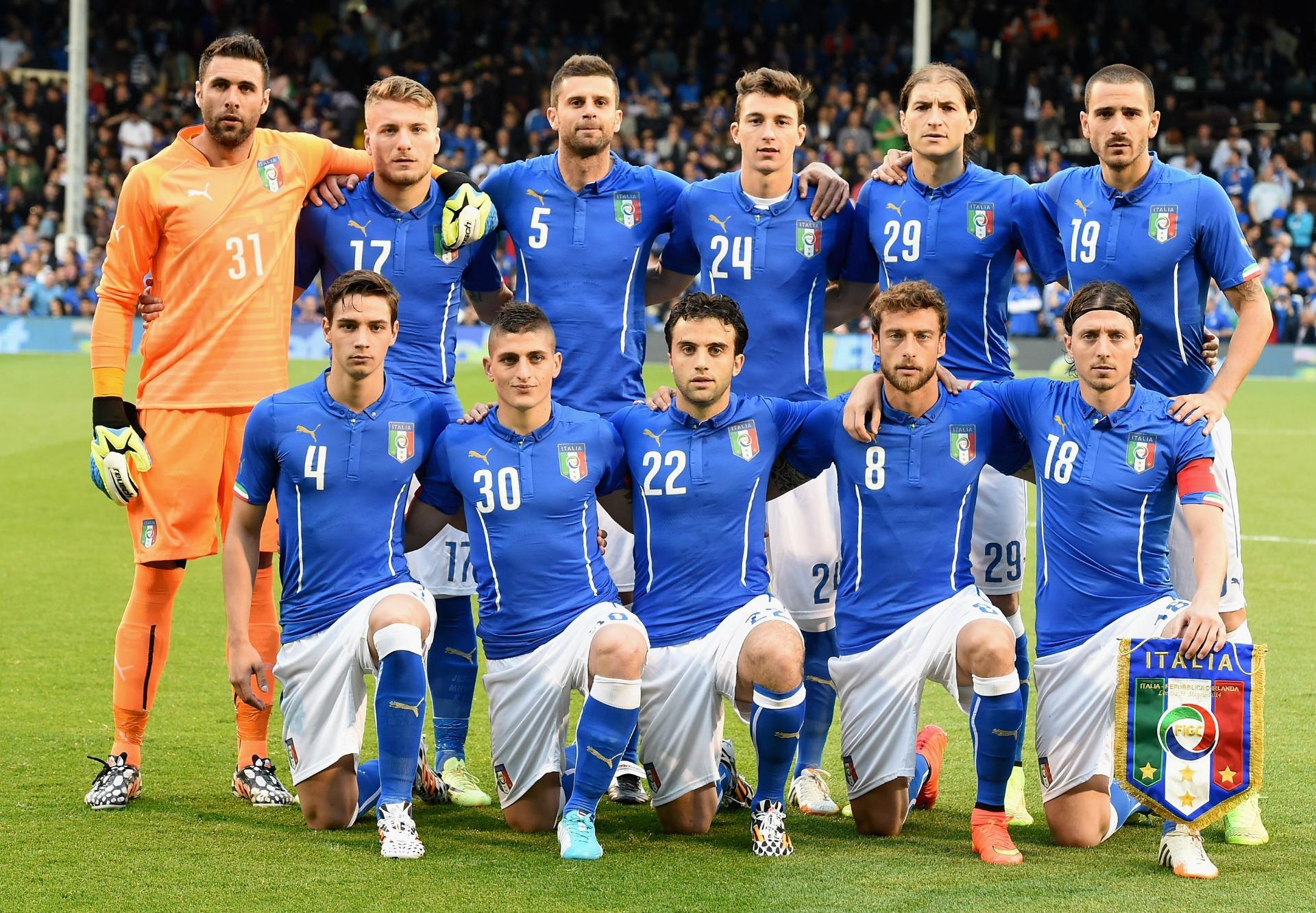 Comment bien prononcer les noms de tous les joueurs de la - Italie foot coupe du monde ...