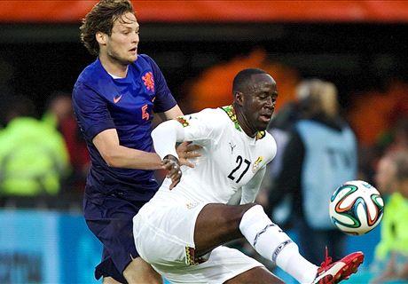 Adomah says Ghana missing him