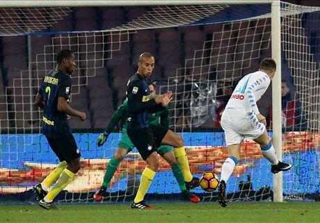 Napoli-Inter LIVE! 2-0, Hamsik