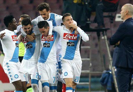 FT: Napoli 3-0 Inter