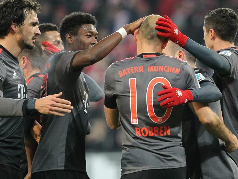 Bundesliga, 13ª giornata - Rimonta del Bayern Monaco a Magonza