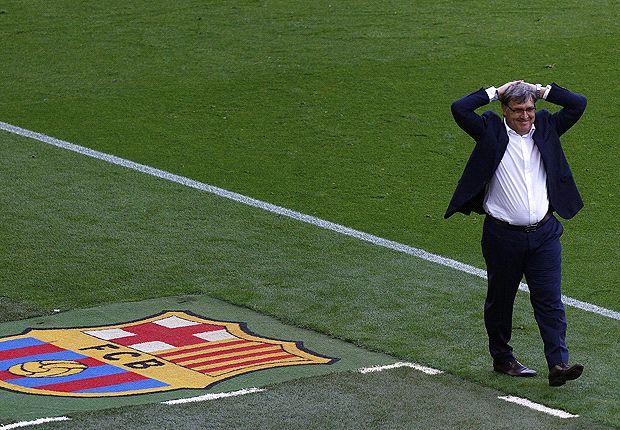Barca failings were my fault, says Martino