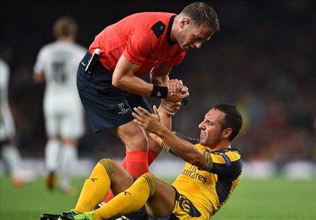 Cazorla's injury ruining Arsenal's title hopes