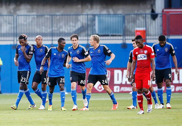 FC Dallas 1-2 San Jose Earthquakes: 'Quakes finish on top after wild first half
