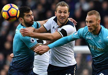 LIVE: Tottenham vs Swansea City