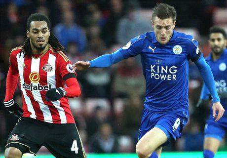LIVE: Sunderland vs Leicester City
