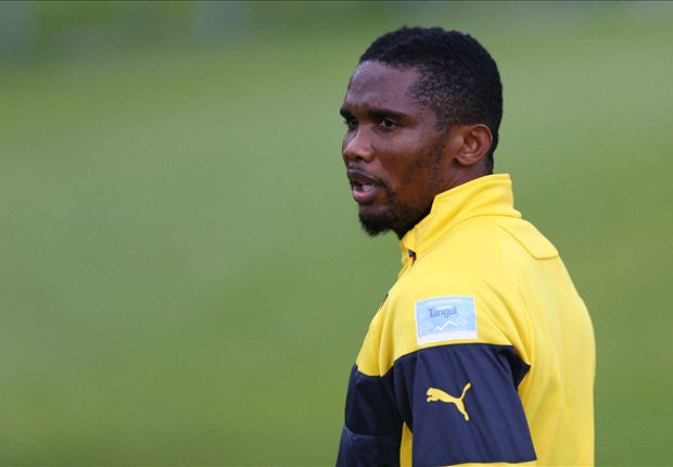 Eto'o undergoes medical ahead of Liverpool switch