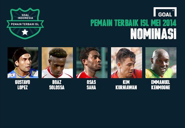 DEBAT: Siapa Pemain Terbaik Indonesia Super League Mei 2014 Pilihan Anda?
