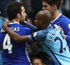 Aguero horror tackle sparks ugly scenes