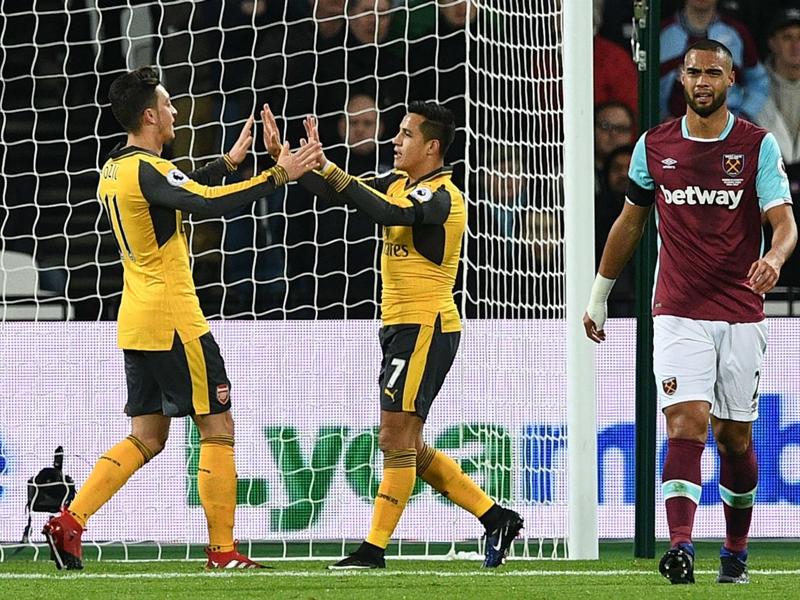 West-Ham-Arsenal (1-5), Alexis Sanchez et Arsenal se promènent