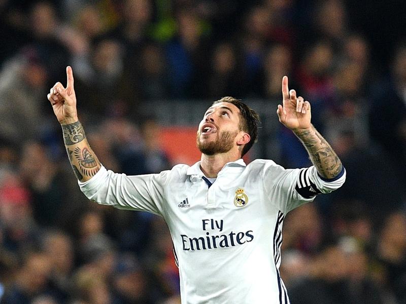 Clasico Barça-Real : Sergio Ramos, l'homme des grands matches a encore frappé