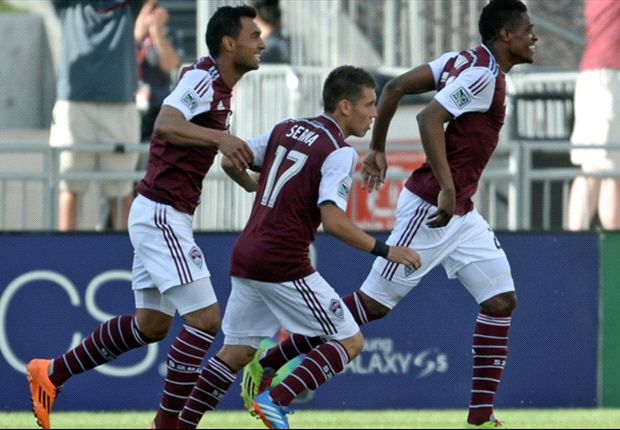 Colorado Rapids 3-0 Houston Dynamo: Brown double helps Rapids to easy win