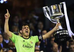 IKER CASILLAS BARCELONA REAL MADRID COPA DEL REY 04162014
