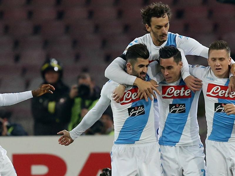 Napoli cooperativa del goal: 10 giocatori già a segno