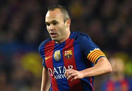 Iniesta's return gives Barcelona hope