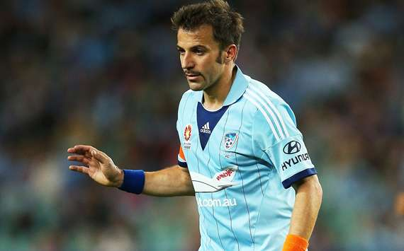 Del Piero: I could return to Juventus - but not as a player