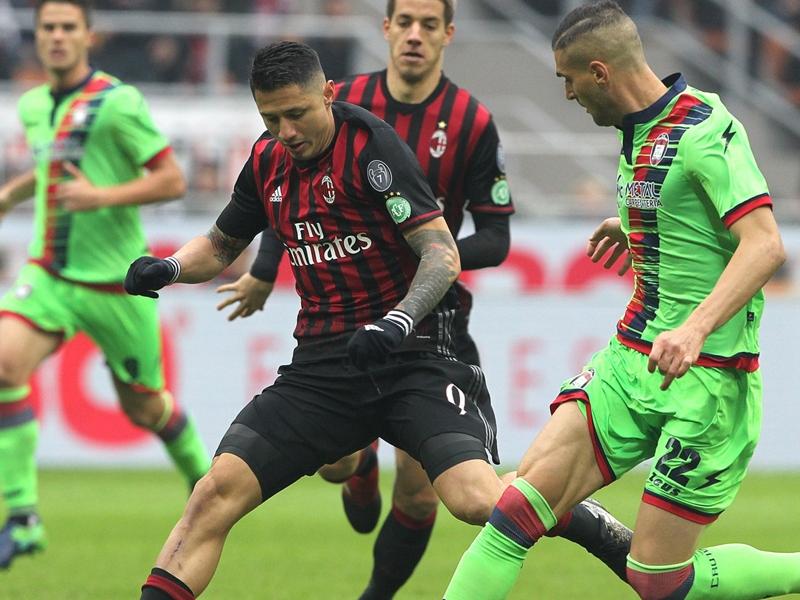 Milan-Crotone 1-1, Lapadula offre la victoire aux Rossoneri