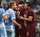 Luci all'Olimpico: Lazio-Roma in notturna