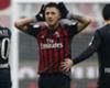 AC Milan striker Gianluca Lapadula celebrates his winner against Crotone
