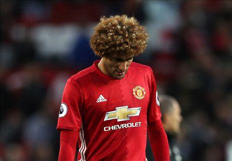 Man Utd undone by Mou's Fellaini grenade