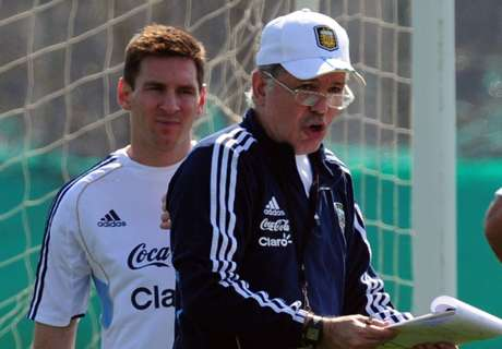Sabella: Messi will become a playmaker