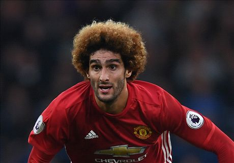 Neville scorns 'idiotic' Fellaini for foul